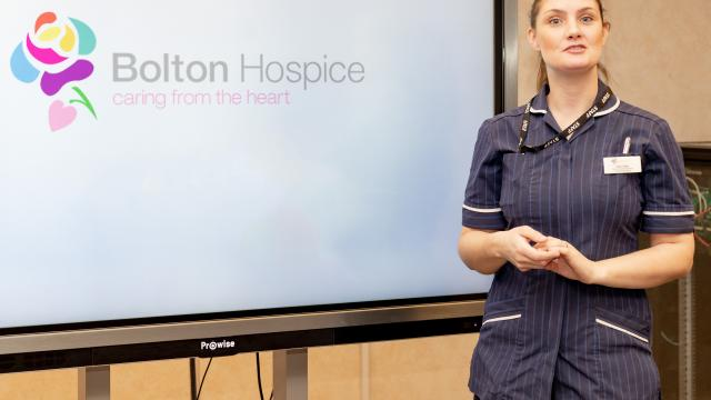 Education at Bolton Hospice